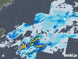 2021年01月22日の沖縄地方の雨雲レーダー