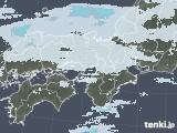 2021年01月22日の近畿地方の雨雲レーダー