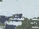 2021年01月22日の大阪府の雨雲レーダー