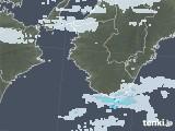 2021年01月22日の和歌山県の雨雲レーダー