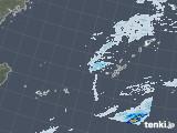 2021年01月23日の沖縄地方の雨雲レーダー