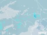2021年01月23日の東京都の雨雲レーダー
