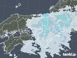 2021年01月24日の近畿地方の雨雲レーダー