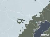 2021年01月24日の東京都の雨雲レーダー