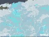 雨雲レーダー(2021年01月24日)