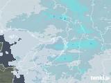 2021年01月24日の大阪府の雨雲レーダー