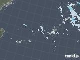 2021年01月25日の沖縄地方の雨雲レーダー