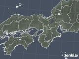2021年01月25日の近畿地方の雨雲レーダー