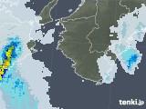 2021年01月26日の和歌山県の雨雲レーダー
