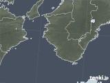 2021年01月27日の和歌山県の雨雲レーダー