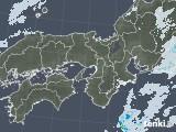 2021年01月28日の近畿地方の雨雲レーダー