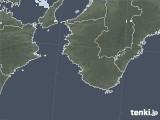 2021年01月30日の和歌山県の雨雲レーダー