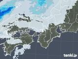 2021年02月01日の近畿地方の雨雲レーダー