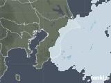 2021年02月01日の千葉県の雨雲レーダー