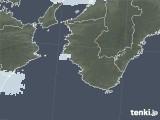 2021年02月01日の和歌山県の雨雲レーダー