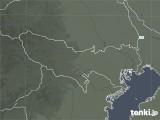 2021年02月02日の東京都の雨雲レーダー