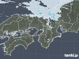 2021年02月03日の近畿地方の雨雲レーダー