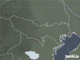 2021年02月03日の東京都の雨雲レーダー