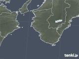 2021年02月03日の和歌山県の雨雲レーダー