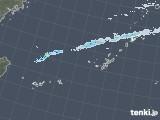2021年02月06日の沖縄地方の雨雲レーダー