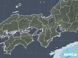 2021年02月06日の近畿地方の雨雲レーダー