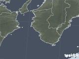 2021年02月06日の和歌山県の雨雲レーダー