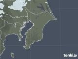 2021年02月07日の千葉県の雨雲レーダー
