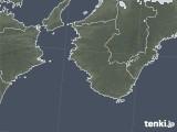 2021年02月07日の和歌山県の雨雲レーダー