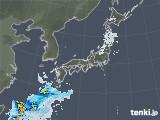 雨雲レーダー(2021年02月11日)