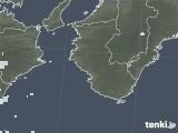 2021年02月14日の和歌山県の雨雲レーダー