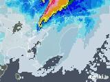 2021年02月15日の千葉県の雨雲レーダー