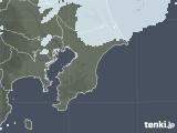 2021年02月17日の千葉県の雨雲レーダー
