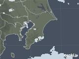 2021年02月18日の千葉県の雨雲レーダー