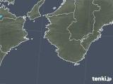 2021年02月19日の和歌山県の雨雲レーダー