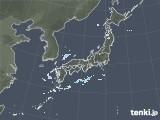 雨雲レーダー(2021年02月22日)
