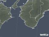 2021年02月22日の和歌山県の雨雲レーダー