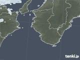 2021年02月25日の和歌山県の雨雲レーダー