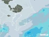 2021年02月26日の千葉県の雨雲レーダー