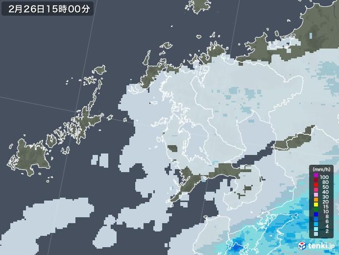 雨雲 レーダー 長崎