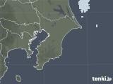 2021年02月27日の千葉県の雨雲レーダー