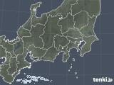 2021年02月28日の関東・甲信地方の雨雲レーダー