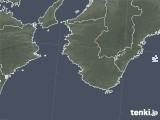 2021年03月01日の和歌山県の雨雲レーダー