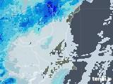 2021年03月02日の茨城県の雨雲レーダー