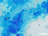 2021年03月02日の群馬県の雨雲レーダー