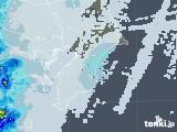 2021年03月02日の千葉県の雨雲レーダー