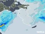 2021年03月05日の和歌山県の雨雲レーダー