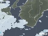 2021年03月07日の和歌山県の雨雲レーダー