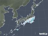 2021年03月08日の雨雲レーダー