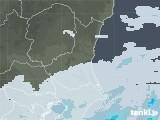 2021年03月08日の茨城県の雨雲レーダー