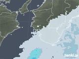 2021年03月08日の和歌山県の雨雲レーダー